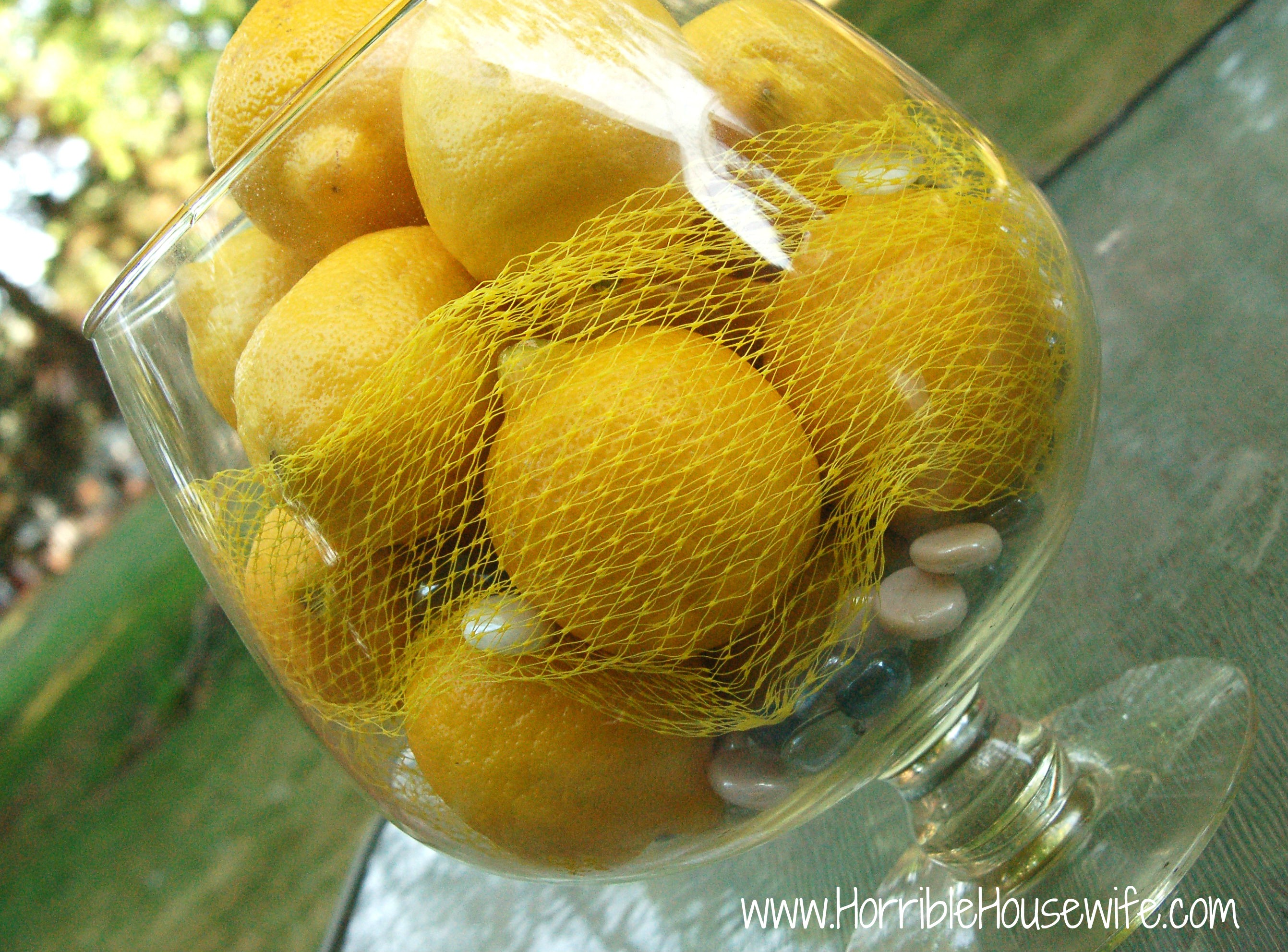 Yellow Party Decorations From Lemons